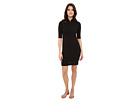 Half Sleeve Pique Polo Dress