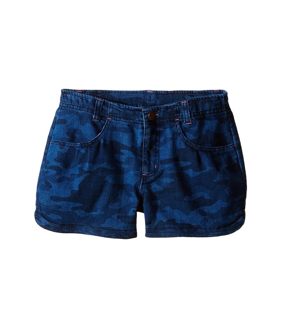 Carhartt Kids Denim Camo Shorts Big Kids Denim Camo Girls Shorts
