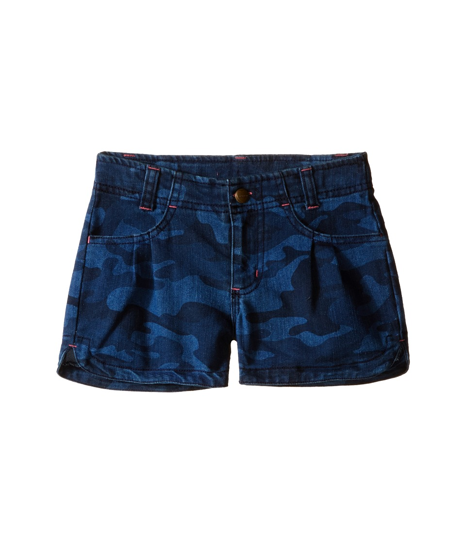 Carhartt Kids Denim Camo Shorts Little Kids Denim Camo Girls Shorts