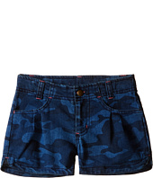 Carhartt Kids - Denim Camo Shorts (Little Kids)
