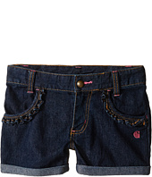Carhartt Kids - Rolled Cuff Denim Shorts (Toddler)