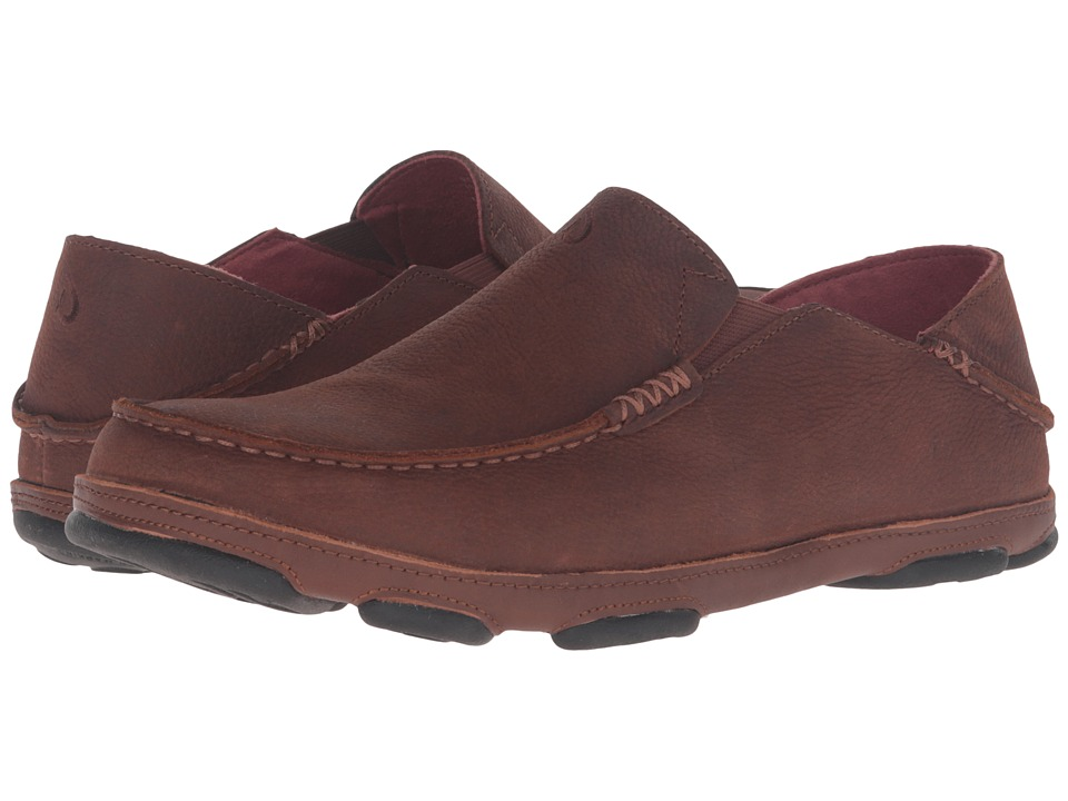 OluKai - Moloa (Rum/Toffee) Mens Slip on  Shoes