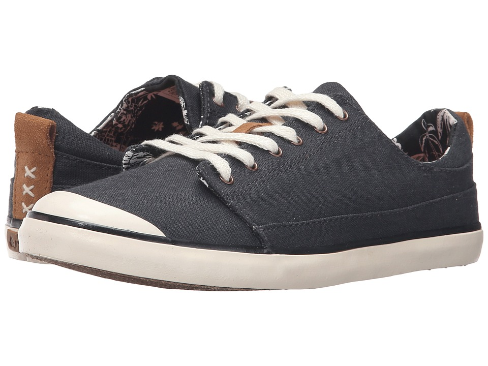 Reef Walled Low (Black/White) Women