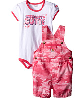 Carhartt Kids - Camo Ripstop Shortall Set (Infant)