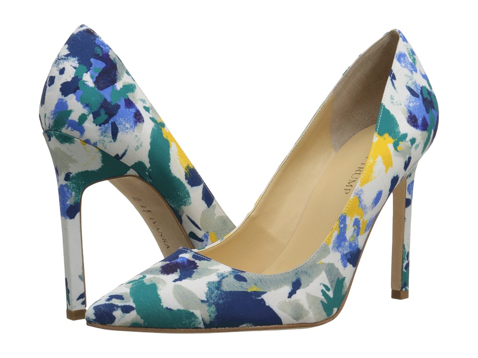 Ivanka Trump - Carra3 (Yellow Floral) High Heels