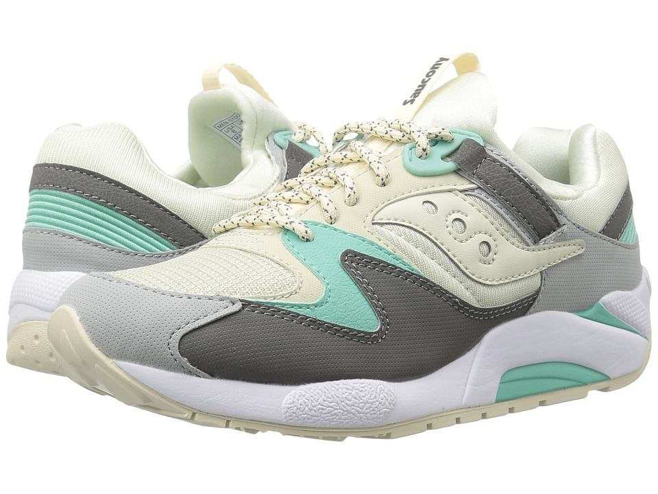 Saucony Originals - Grid 9000 (Light Tan/Charcoal/Mint) Men