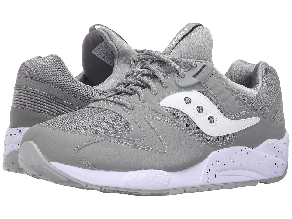 Saucony Originals - Grid 9000 (Grey/White) Men
