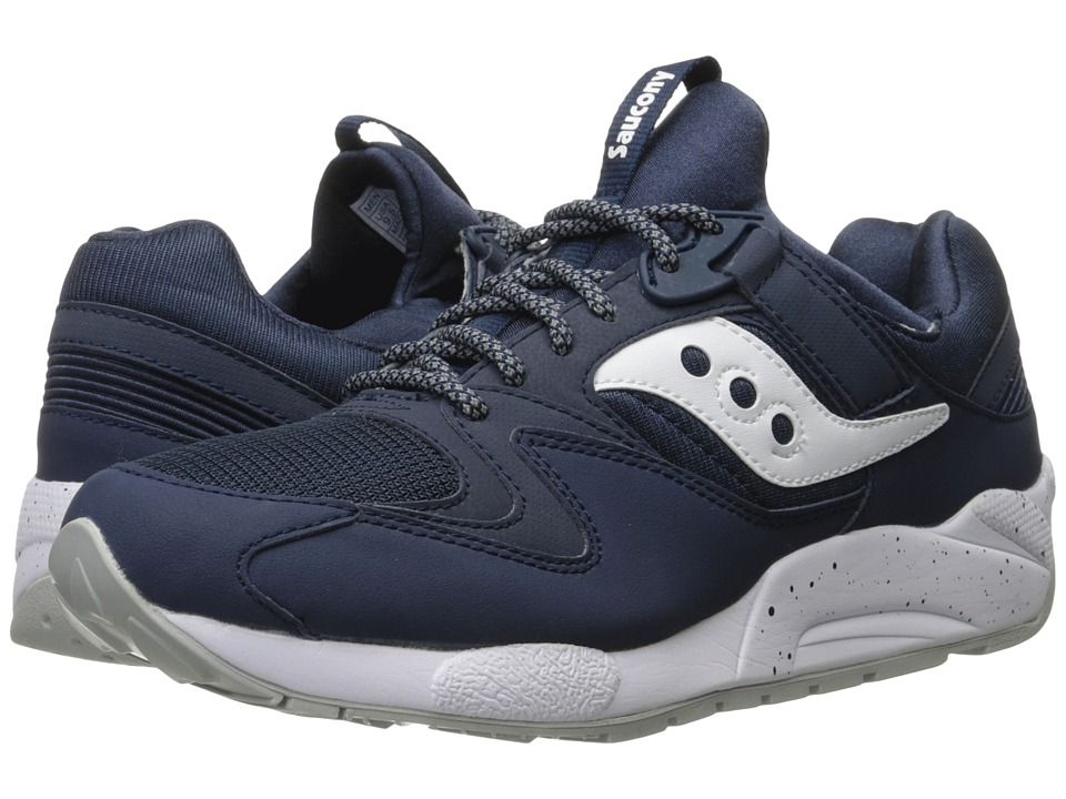 Saucony Originals - Grid 9000 (Navy/White) Men