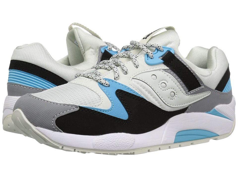 Saucony Originals - Grid 9000 (Light Grey/Black/Grey) Men