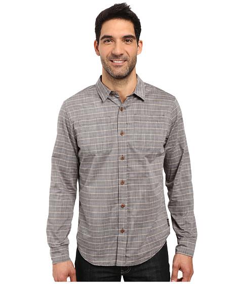 Prana Bergamont Slim Shirt - Dark Khaki