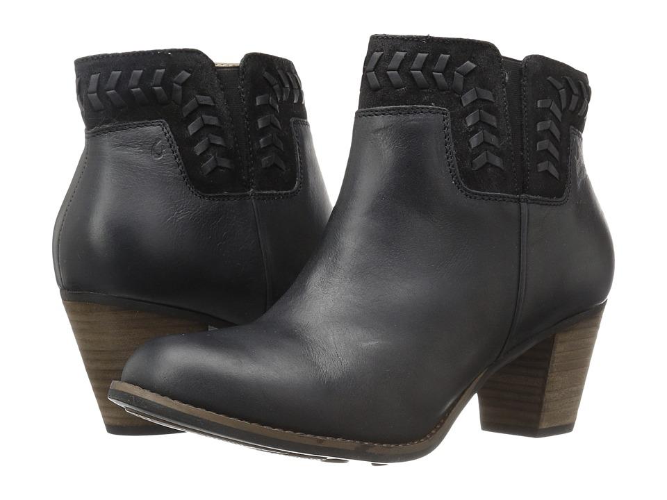 OluKai Kamahoi (Black/Black) High Heels