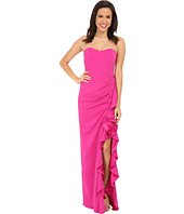 Badgley Mischka - Color Block Ruffle Gown