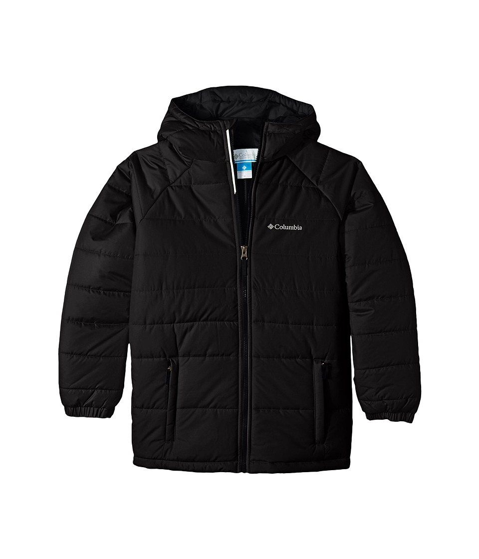 Columbia Kids - Tree Time Puffer Jacket (Little Kids/Big Kids) (Black) Boys Coat