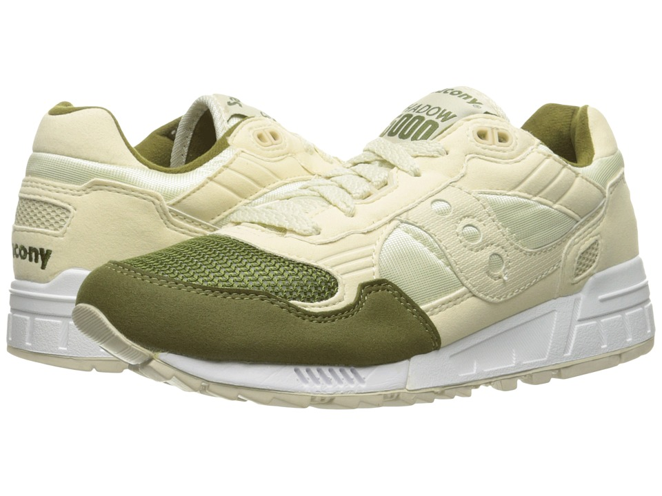 Saucony Originals - Shadow 5000 (Cream/Green) Men