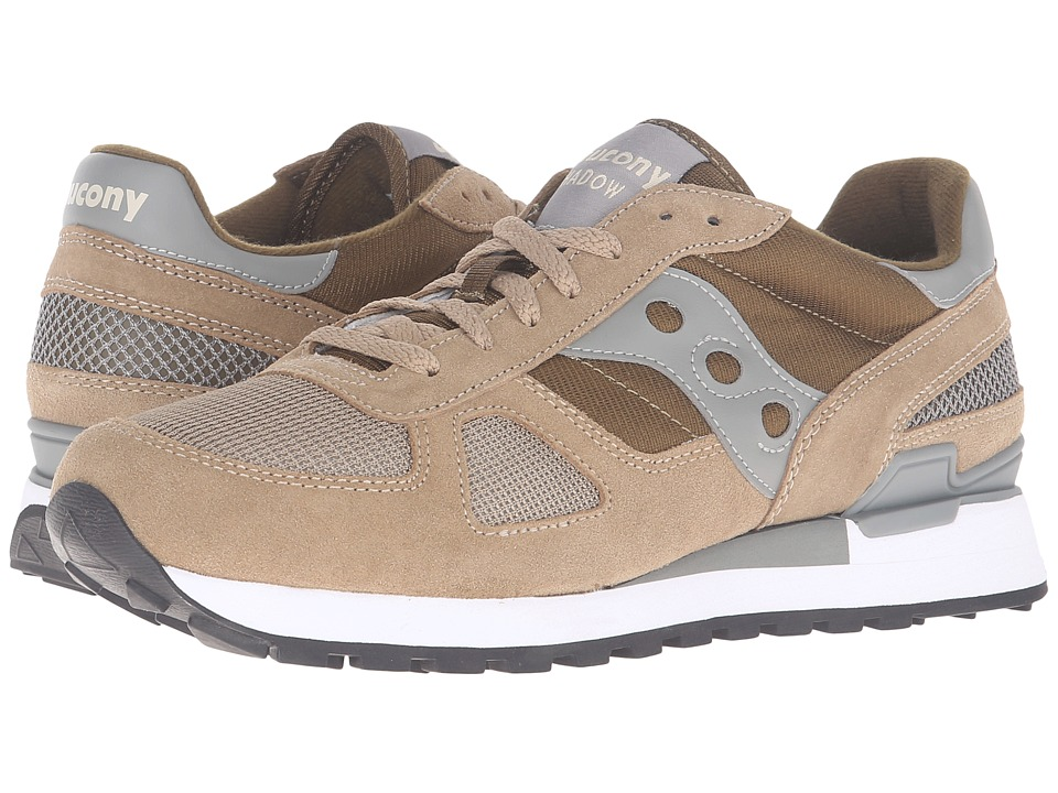 Saucony Originals - Shadow Original (Taupe/Green) Men