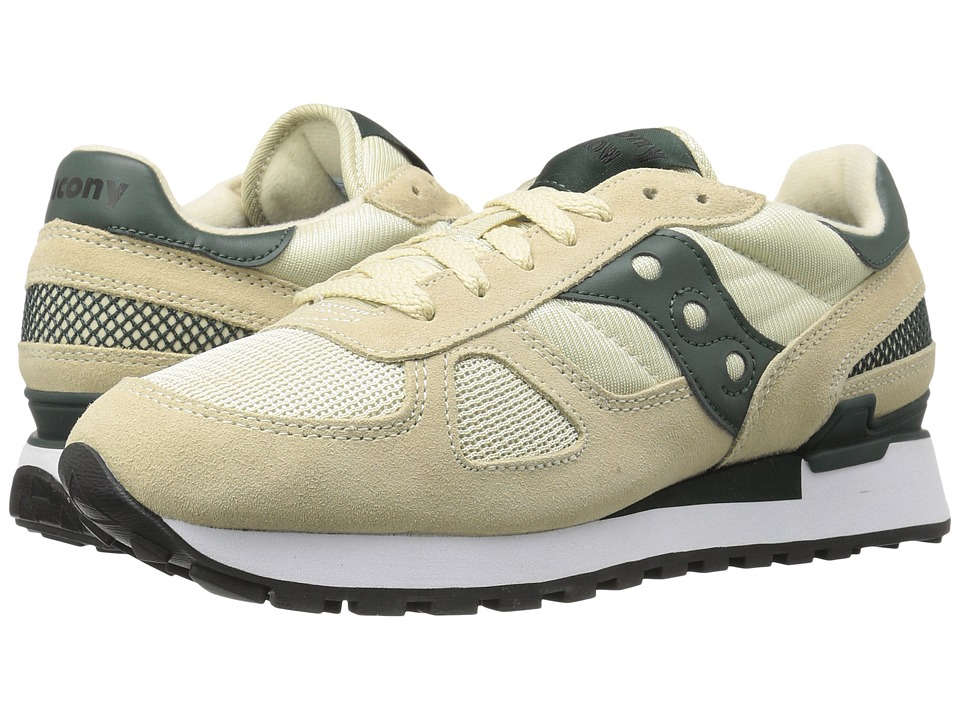 Saucony Originals - Shadow Original (Sand/Green) Men