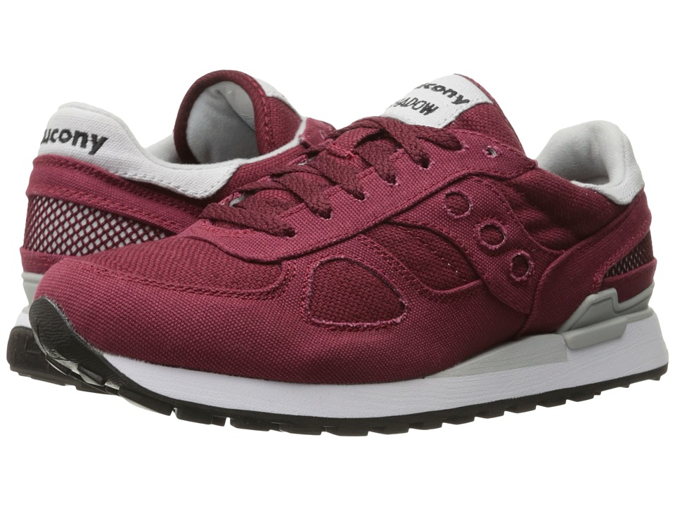 Saucony Originals - Shadow Vegan (Burgundy) Men