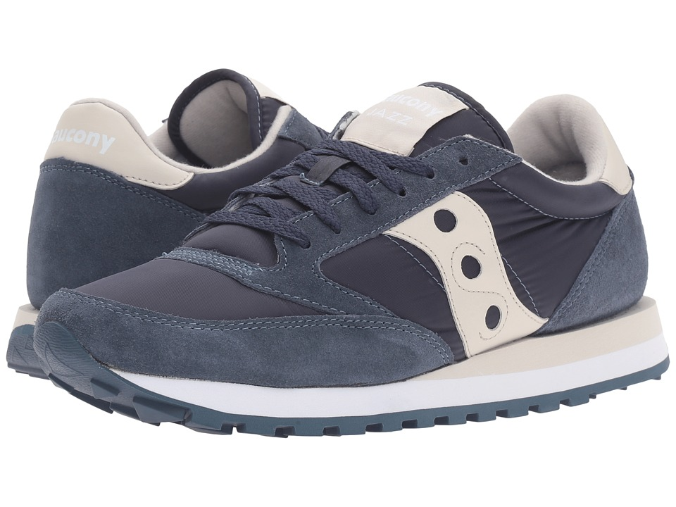 Saucony Originals - Jazz Original (Navy/Off-White) Men
