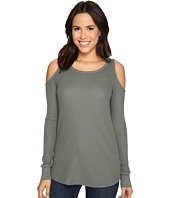 Splendid - Thermal Cold Shoulder Top
