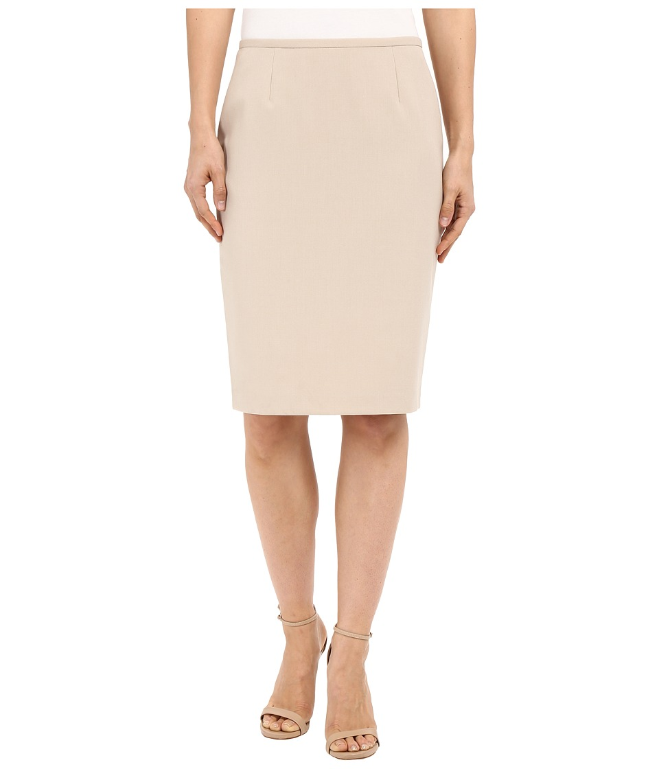 Calvin Klein Pencil Skirt Latte Womens Skirt