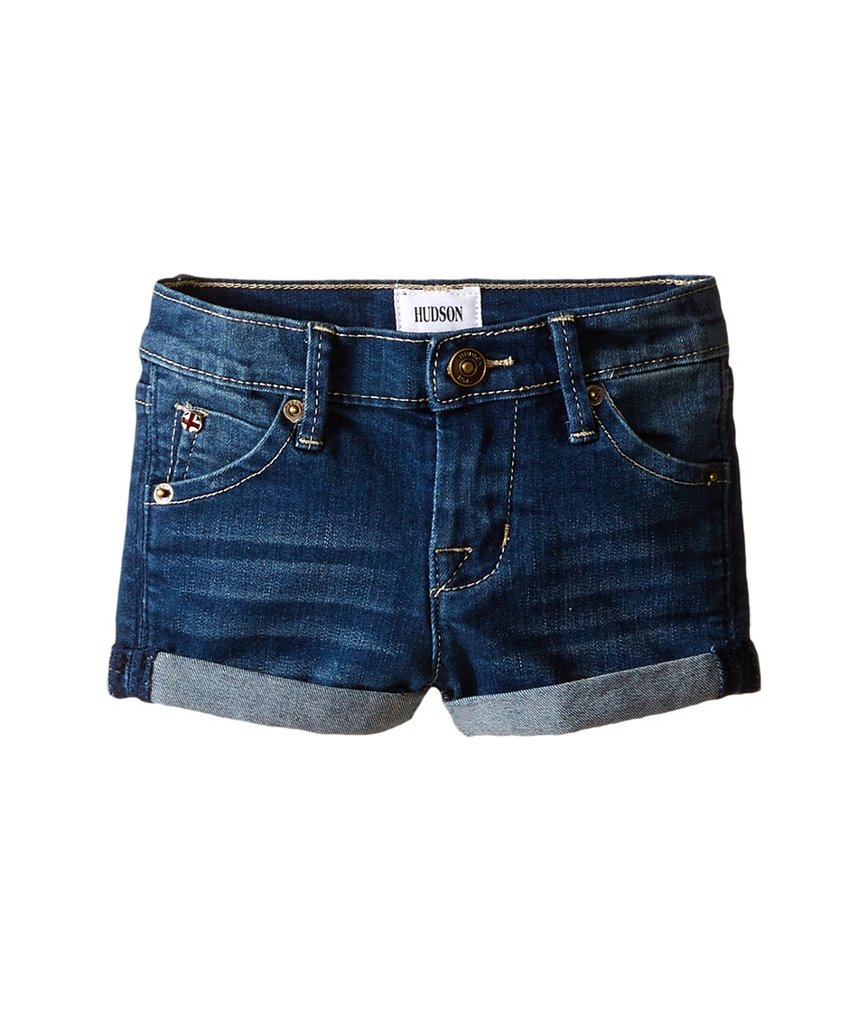 Hudson Kids 2 1/2 Roll Shorts in Hippie Sky Infant Hippie Sky Girls Shorts