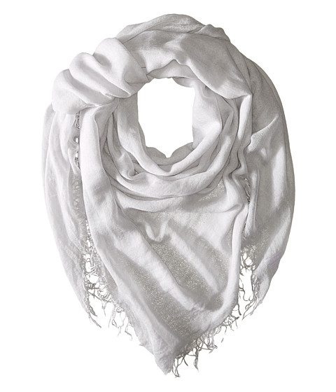 Chan Luu Cashmere and Silk Scarf - Glacier Grey