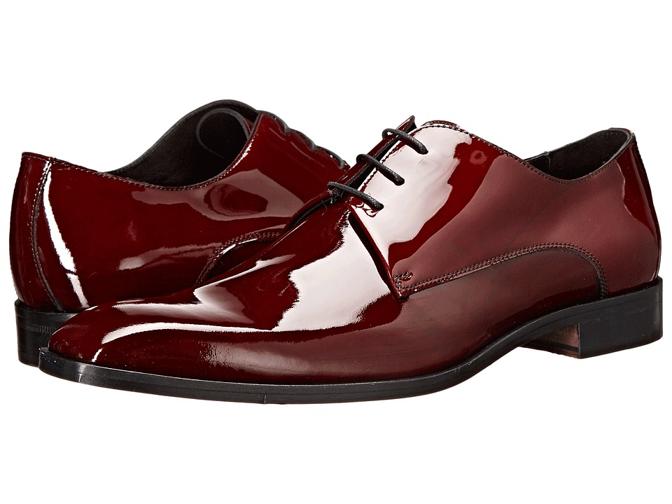 Massimo Matteo 3-Eye Formal Blucher (Burgundy) Men