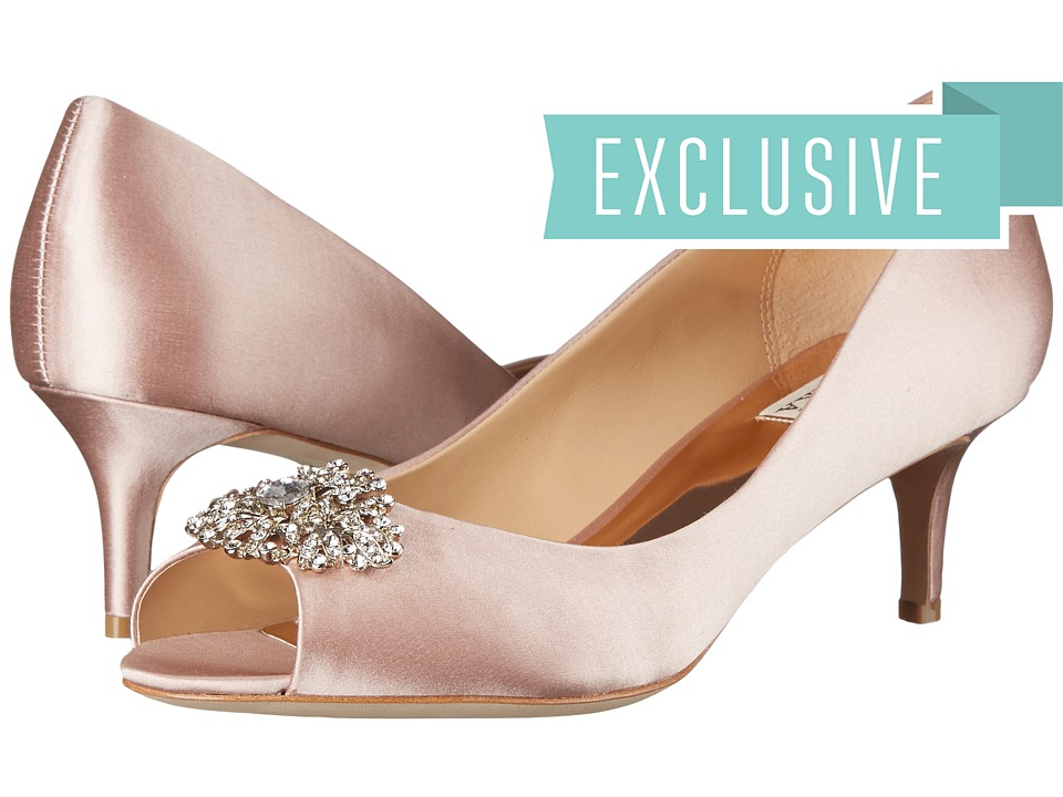 Badgley Mischka Layla (Blush) High Heels