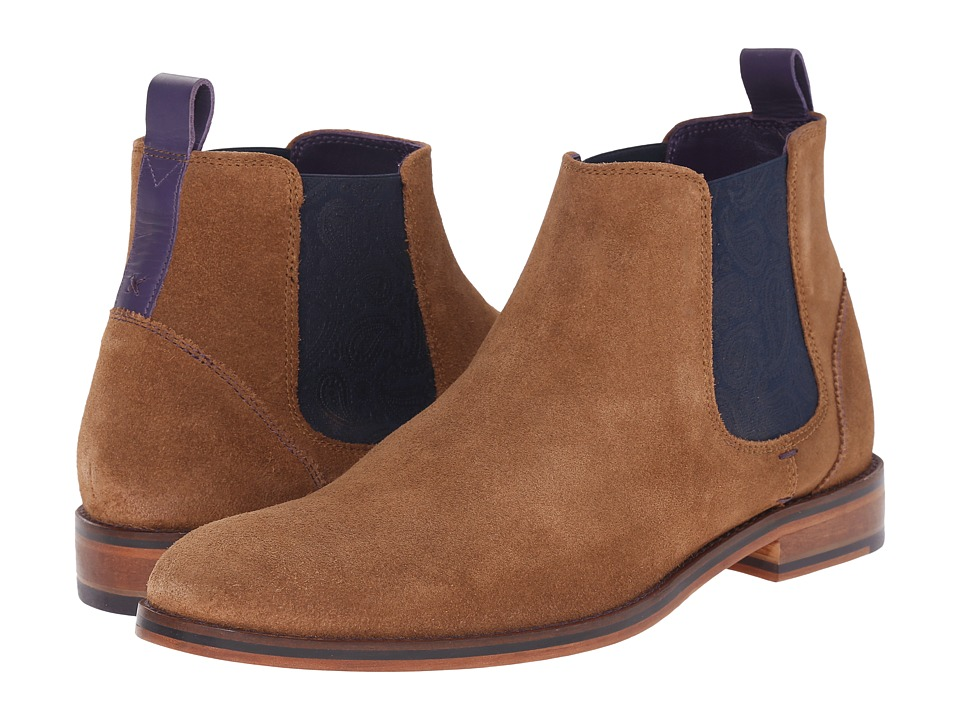 Ted Baker Camroon 4 (Dark Tan Suede) Men