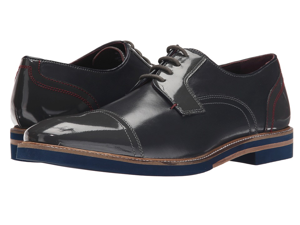 Ted Baker Braythe 2 (Dark Grey Leather) Men
