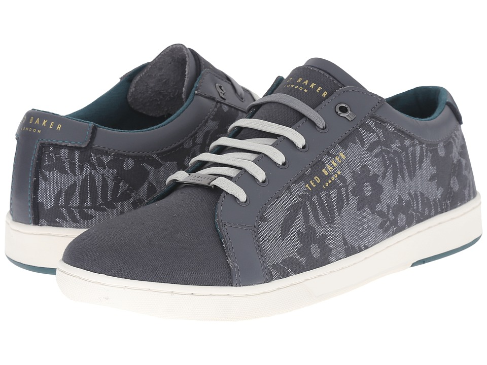 Ted Baker Keeran 3 Grey Textile Mens Lace up casual Shoes