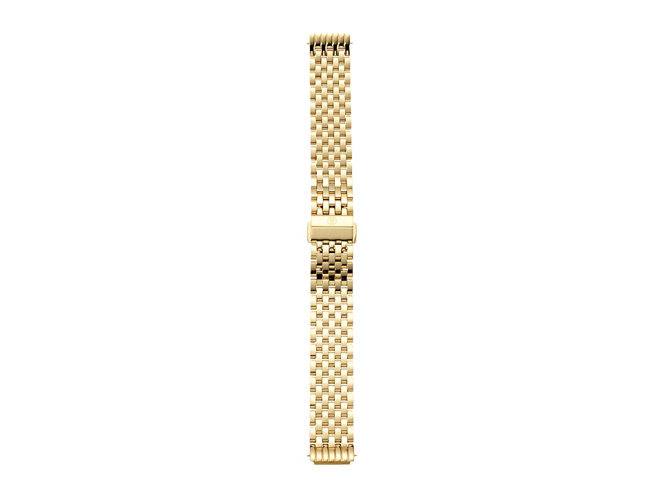 Michele 16mm Deco II Mid Size Gold Bracelet Gold Watches