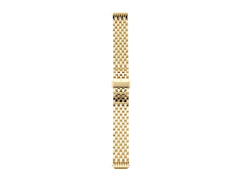 Michele 16mm Deco II Mid-Size Gold Bracelet - Gold