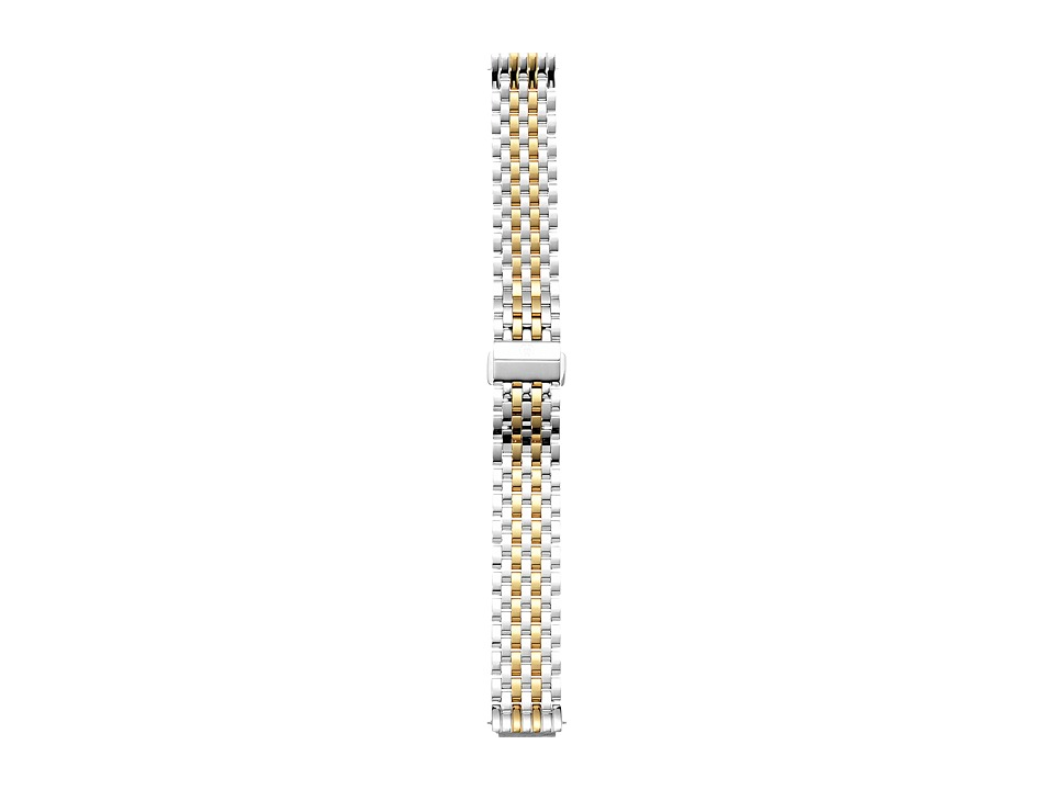 Michele 16mm Deco II Mid Size Two Tone Bracelet Two Tone Watches
