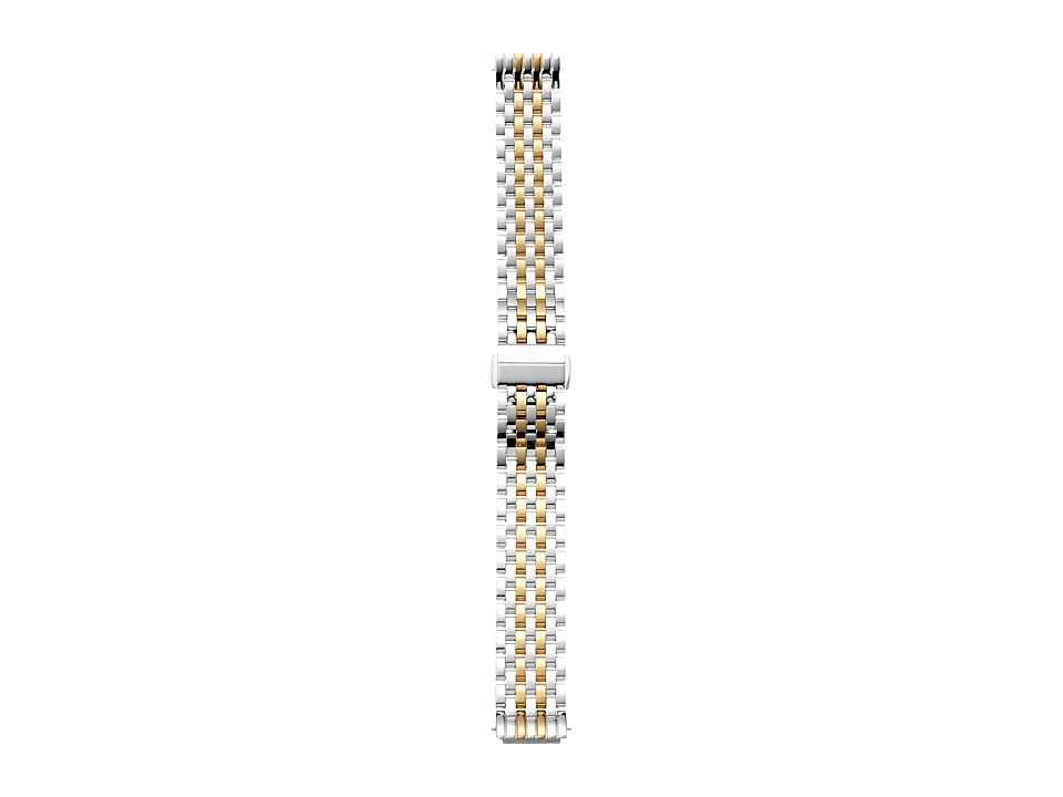 Michele - 16mm Deco II Mid-Size Two-Tone Bracelet