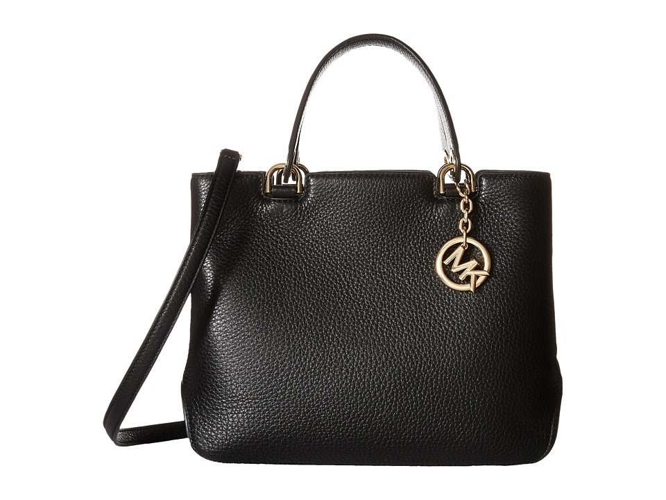MICHAEL Michael Kors - Anabelle Medium Top Zip Tote (Black) Tote Handbags