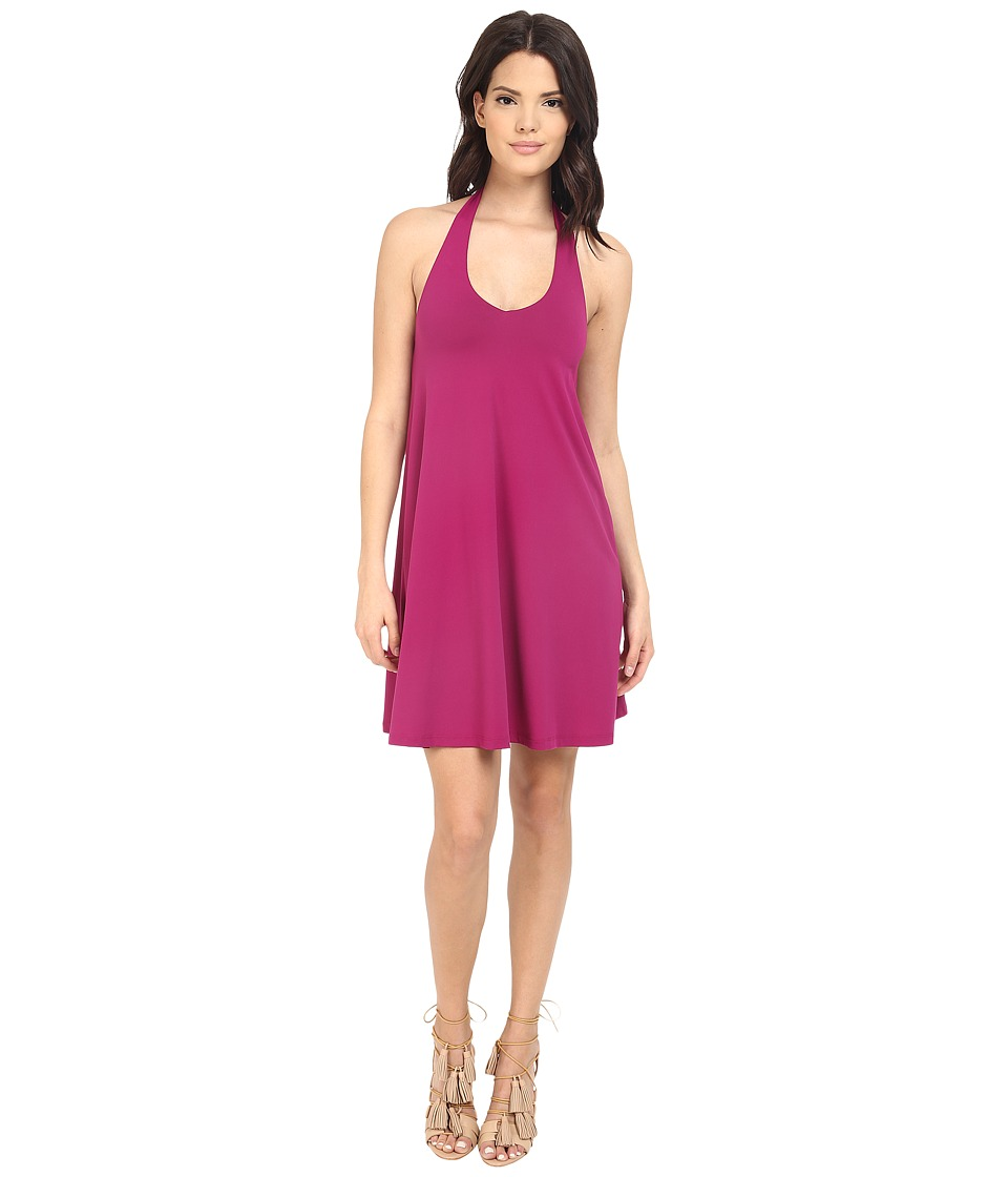 Susana Monaco Dione Dress Bombshell Pink Womens Dress