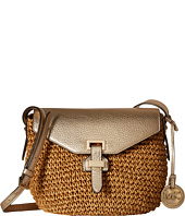 MICHAEL Michael Kors - Straw Naomi Medium Messenger