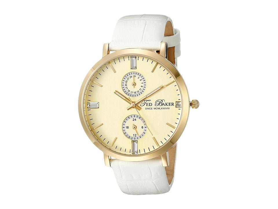 Ted Baker Dress Sport Gold Watches