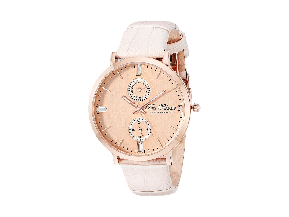 Ted Baker Dress Sport Rose Gold Watches