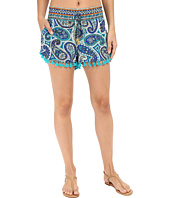 Trina Turk - Provence Paisley Shorts Cover-Up