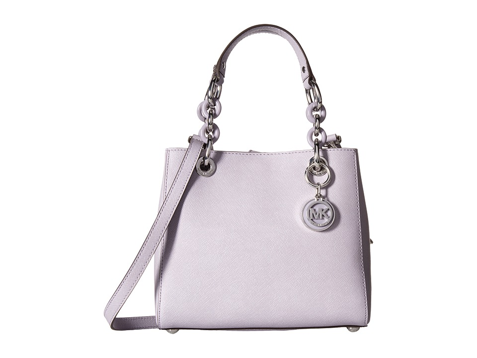 MICHAEL Michael Kors - Cynthia Small North/South Satchel (Lilac) Satchel Handbags