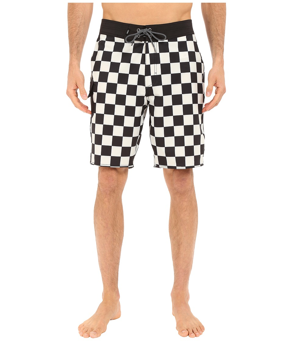 Vans Ampster Boardshorts Black/Whitecaps Mens Swimwear