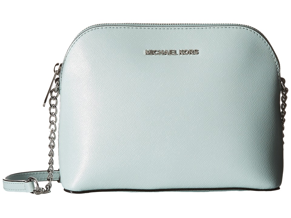 MICHAEL Michael Kors - Cindy Large Dome Crossbody (Celadon) Cross Body Handbags