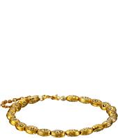 Vanessa Mooney - The Swan Oval Bead Chain Cuff Bracelet