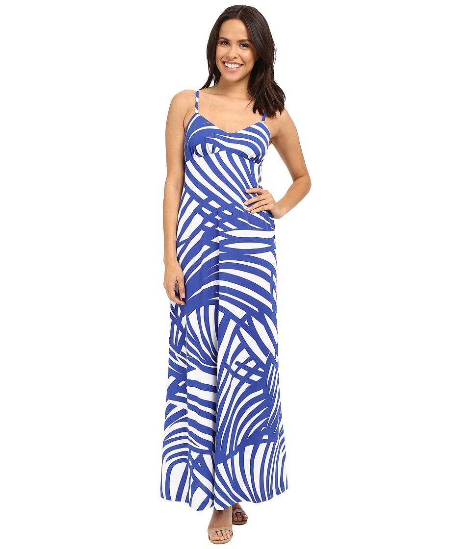 Susana Monaco Isla Maxi Dress Lapis Womens Dress