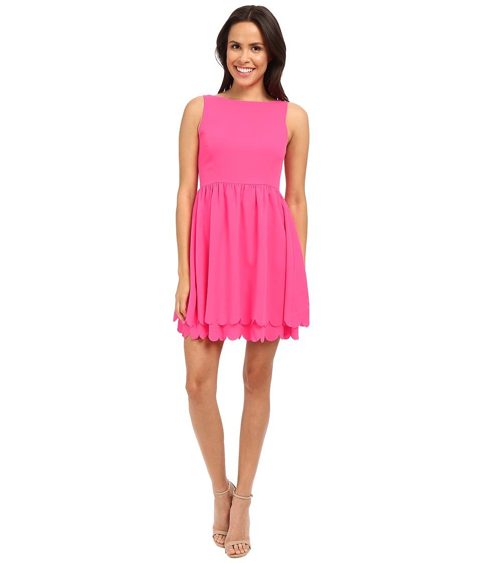 Susana Monaco Clariss Dress Pink Glo Womens Dress