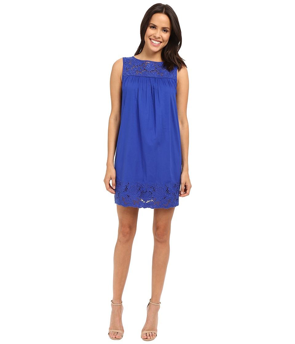 Susana Monaco Ellie Dress Lapis Womens Dress