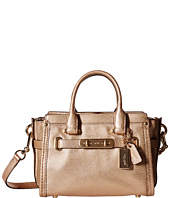 COACH - Metallic Pebble Light Swagger 20 Carryall