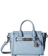 COACH - Pebbled Leather Coach Swagger 20